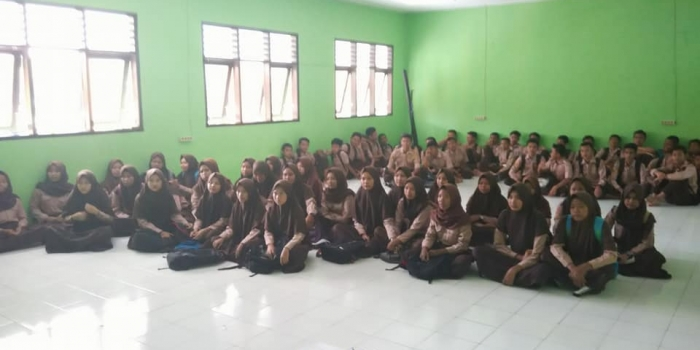 Sosialisasi SMPN 1 Cidolog